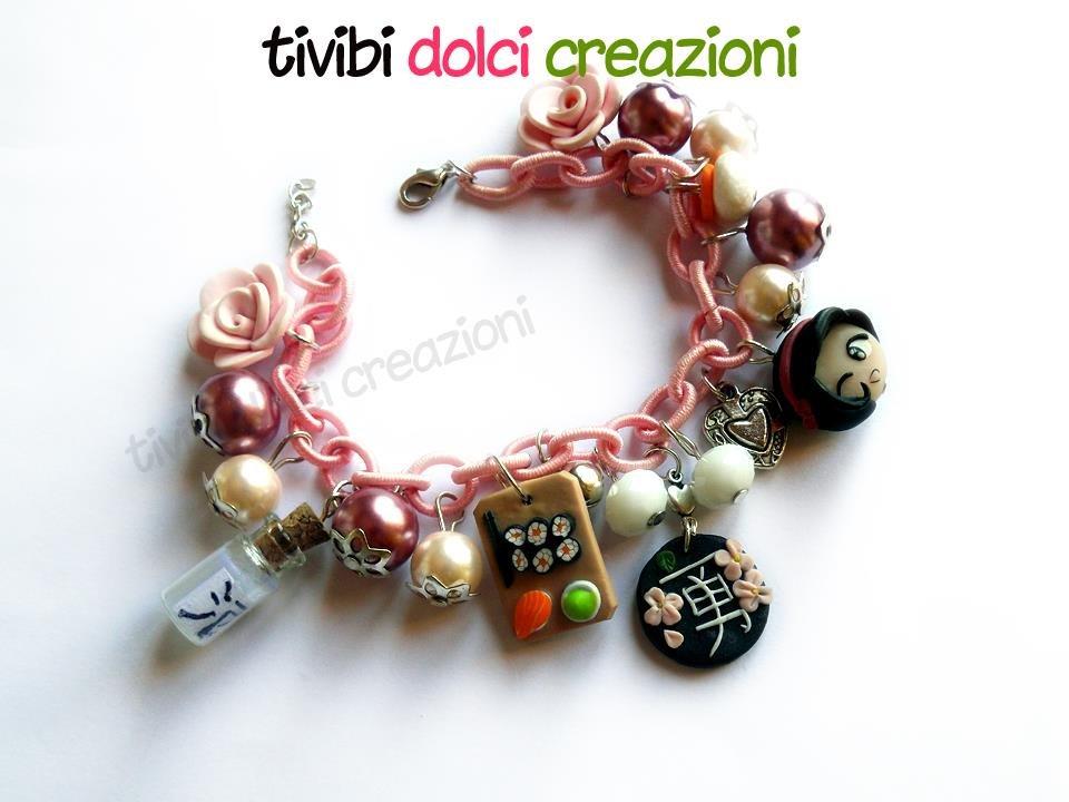 Japan inspired bracelet