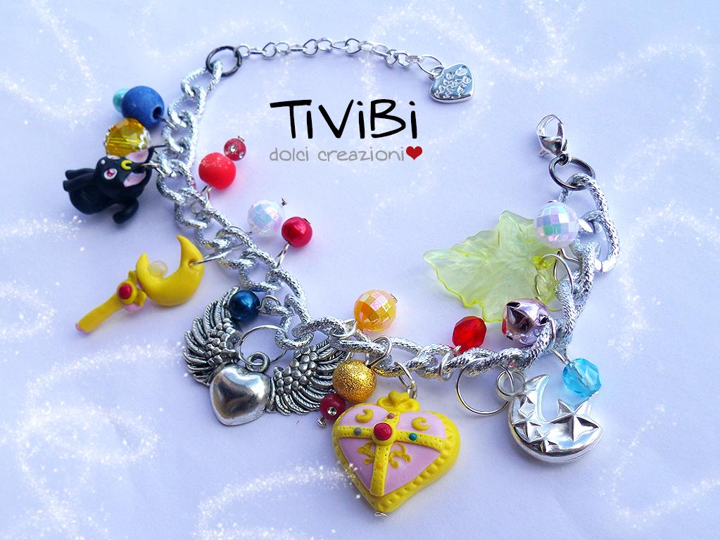 Sailor Moon bracelet by tivibi