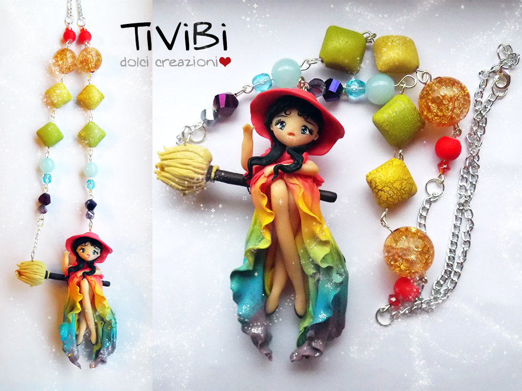 Rainbow Witch by tivibi