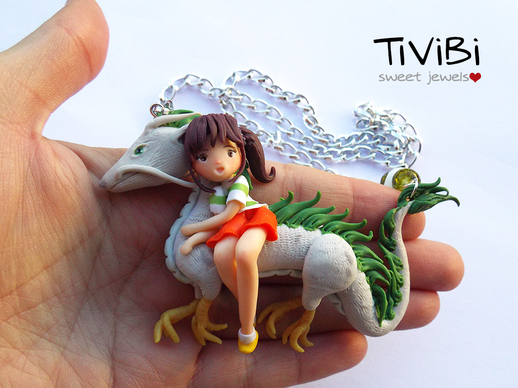 Haku and Chihiro Spirited Away | Tivibi by tivibi