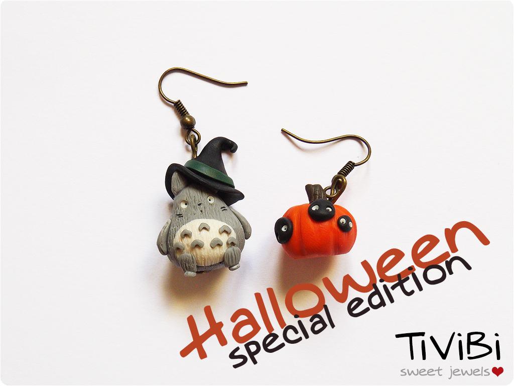 Halloween Totoro by tivibi