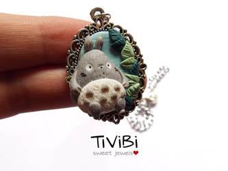 Tonari no Totoro - Cammeo version by tivibi