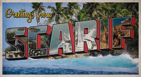 Scarif Postcard