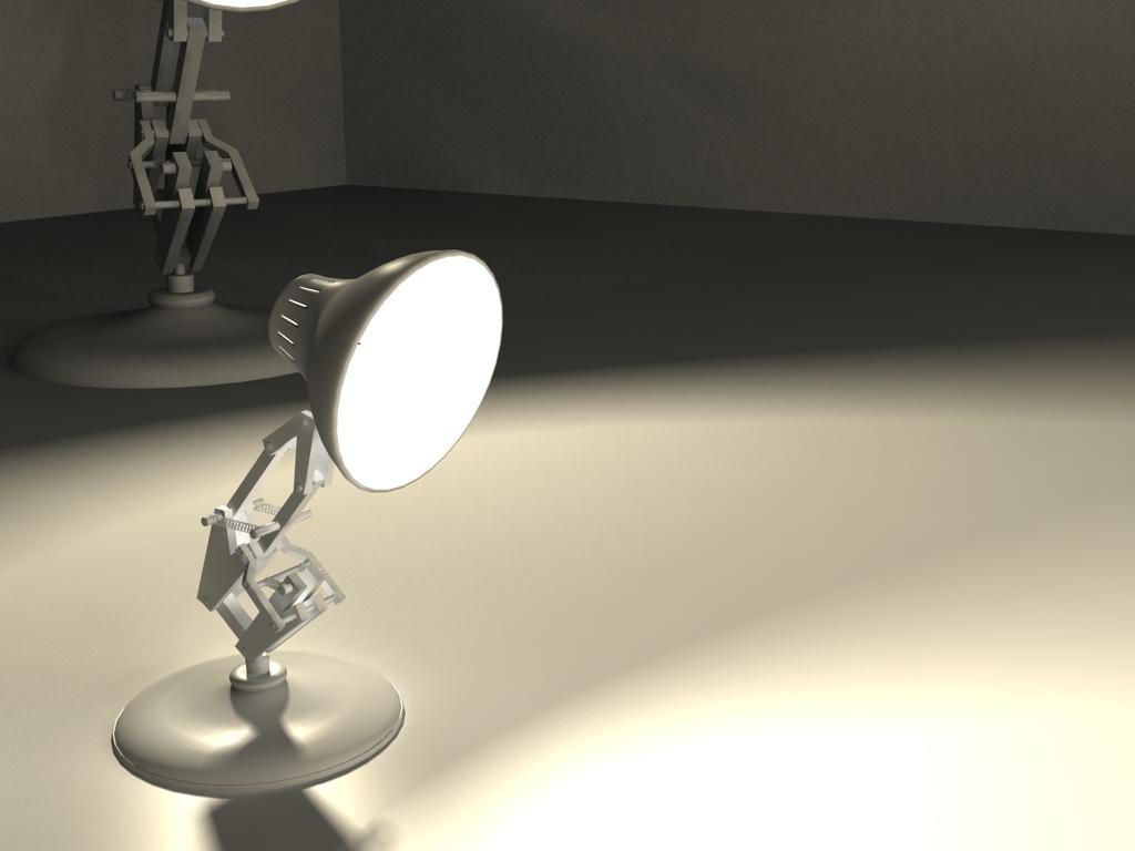 pixar lamp modeling luxo jr by eddy2009 on deviantart. Black Bedroom Furniture Sets. Home Design Ideas
