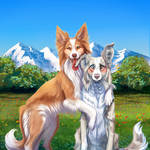 Earthday Collies - collab