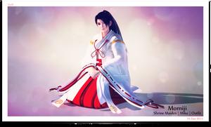 `~ Momiji : Shrine Maiden ~`