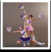 `~ Ninja Sisters : Cheerleaders ~` by VeiradA