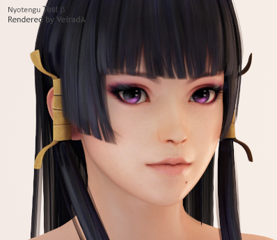 Nyotengu: Test-Beta by VeiradA
