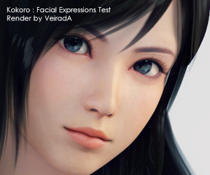 Expressions test Facial