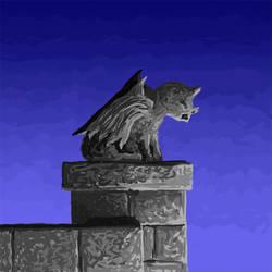 Perched Gargoyle