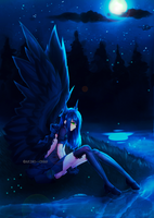 Angel of the night by AKIMI--CHAN