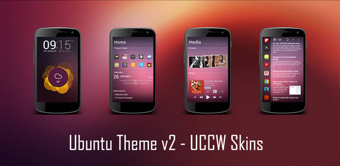Ubuntu Theme (version 2) for Android