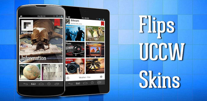 Flipboard theme for Android