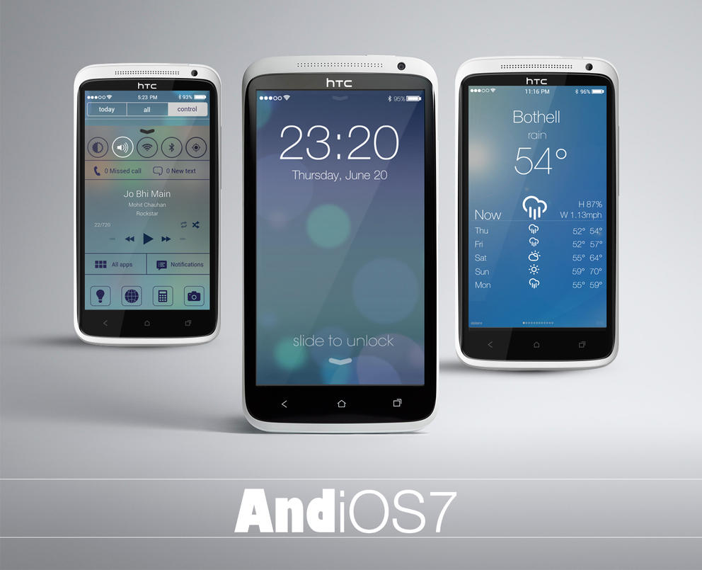 AndiOS7 - iOS7 theme for Android devices by bagarwa