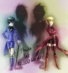 THANKS 10K WATCHES by madelezabeth