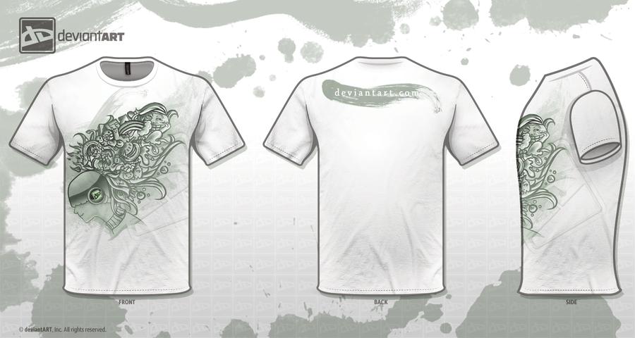 dA T-shirt design by madelezabeth