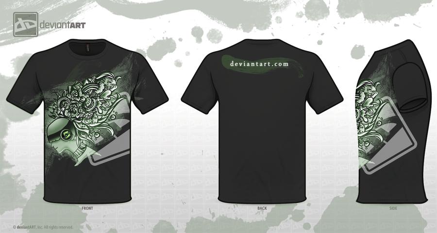 dA T-shirt design :black: by madelezabeth
