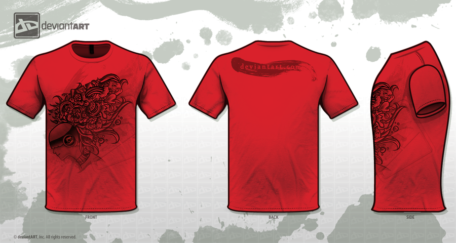 dA T-shirt design :red: by madelezabeth