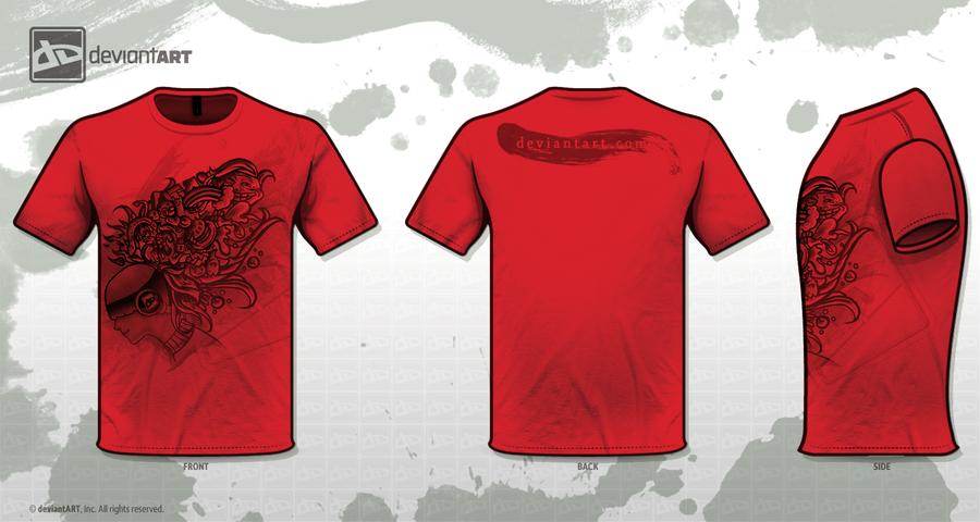 dA T-shirt design :red: by madelezabeth