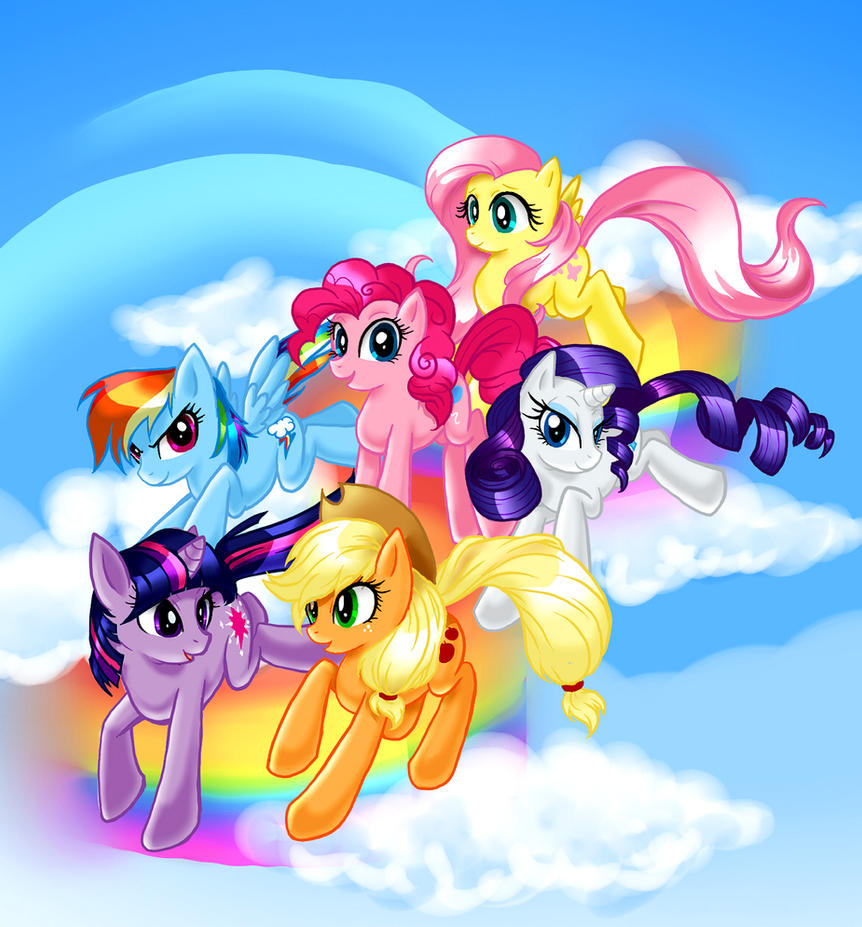 Ponies by madelezabeth