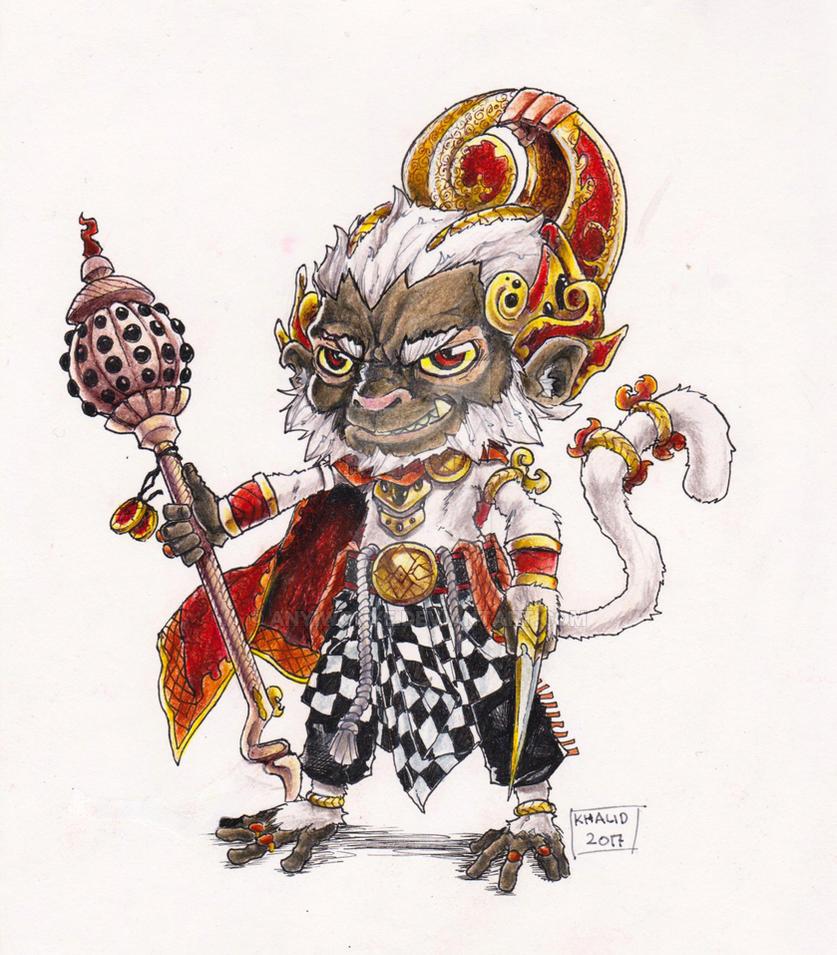 Anoman The Monkey Warrior by anyiwonye