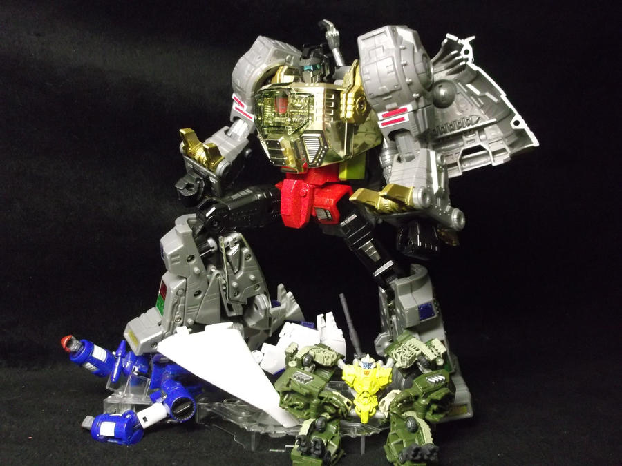 Decepticons, they never learn do they Grimlock? by forever-at-peace