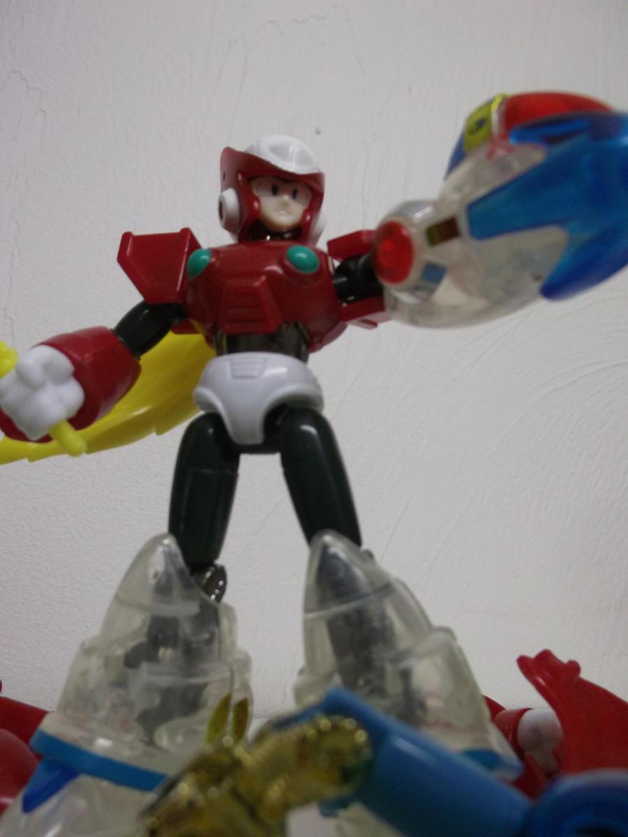 Maverick Hunter Zero, prototype phase by forever-at-peace
