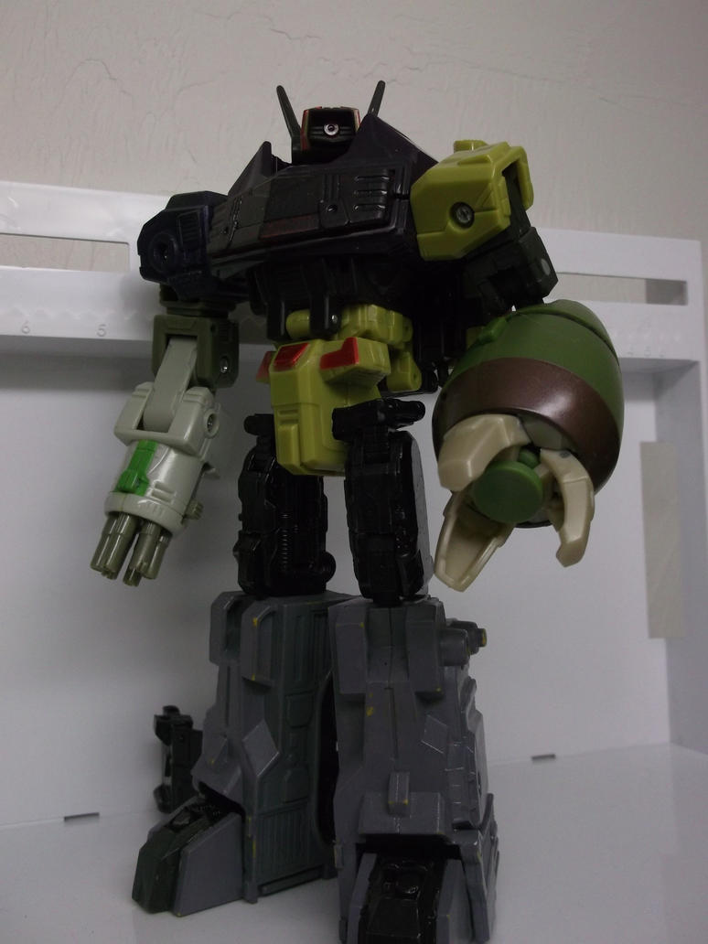 Custom Shockwave ARM update by forever-at-peace