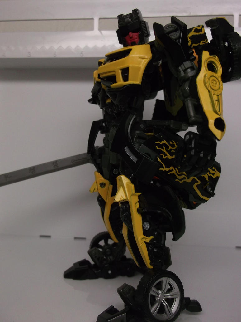 Custom Samurai Transformer Work in progress pic-1 by forever-at-peace