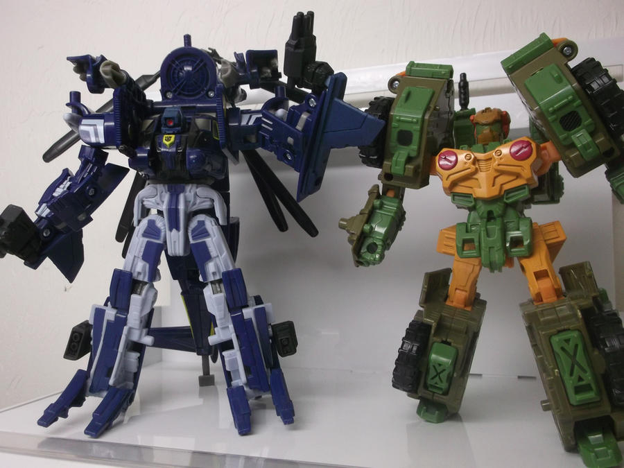 Headrobots Gyro WHIRL THE WRECKER by forever-at-peace