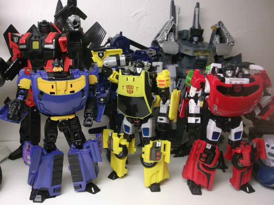 Autobot Lamborghini Brothers by forever-at-peace