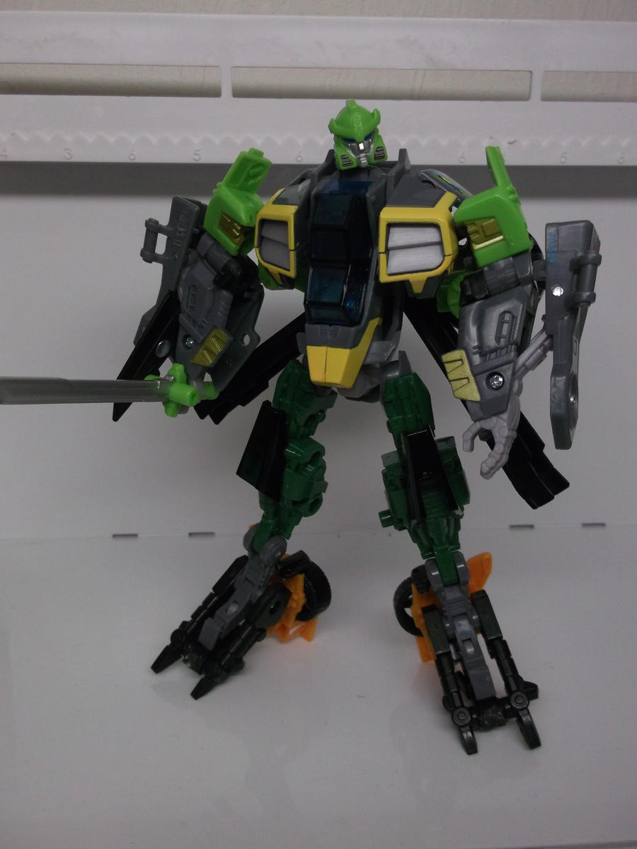 GDO SPRINGER CUSTOM ROBOT MODE WIP by forever-at-peace