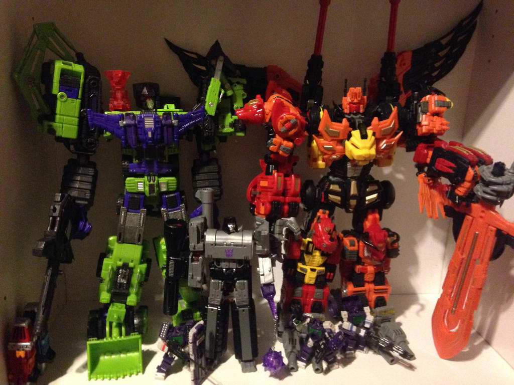Devastator and Predaking by forever-at-peace