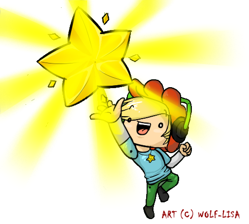 PewDiePie - Scribblenauts Unlimited by Wolf-Lisa