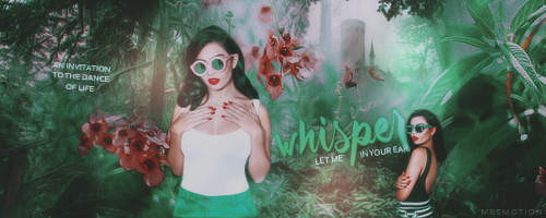 Let me whisper - Signature by mrsmotion