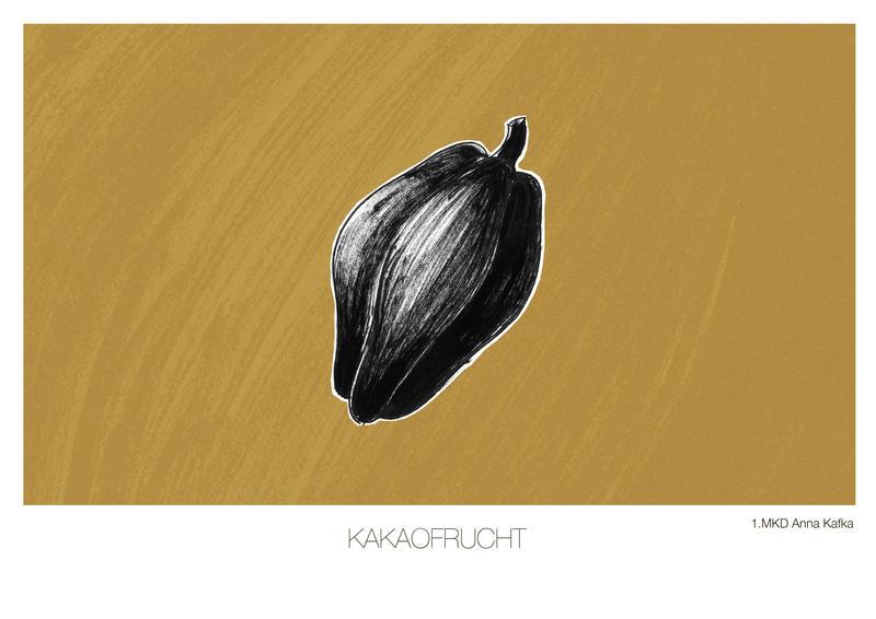Kakaofrucht by Anna-Kafka