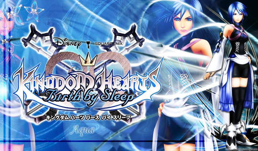 Kingdom Hearts Aqua Wallpaper Aqua Kingdom Hearts BBS by