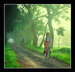 go to school.......... by hendradarma28