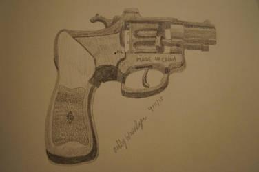 Sketch 23 Capgun by AshleyWass