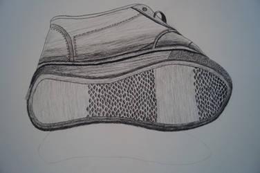 Charcoal Shoe by AshleyWass