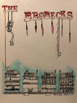 The Brobecks - Finished - Inktober 9, 2018