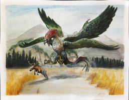 Dragon Eagle by eatalllot