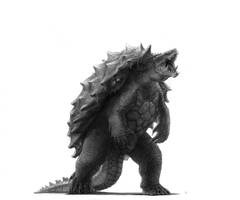 Gamera and Kenny (Monsterverse inspired)