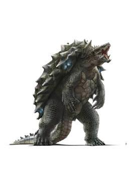 Monsterverse Gamera (colored)