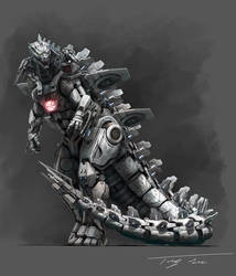 The Metal God, Mechagodzilla upgrade