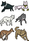 Wolf's Rain icons by porshiawolfe