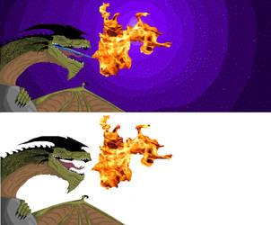 Dragons by porshiawolfe