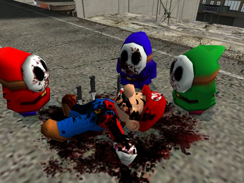 Shy Guy Occult Death To Mario By Pro Jest3r On Deviantart