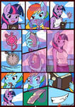 Comic Teaser (Your Time In My Hands) Page 3 by Linedraweer