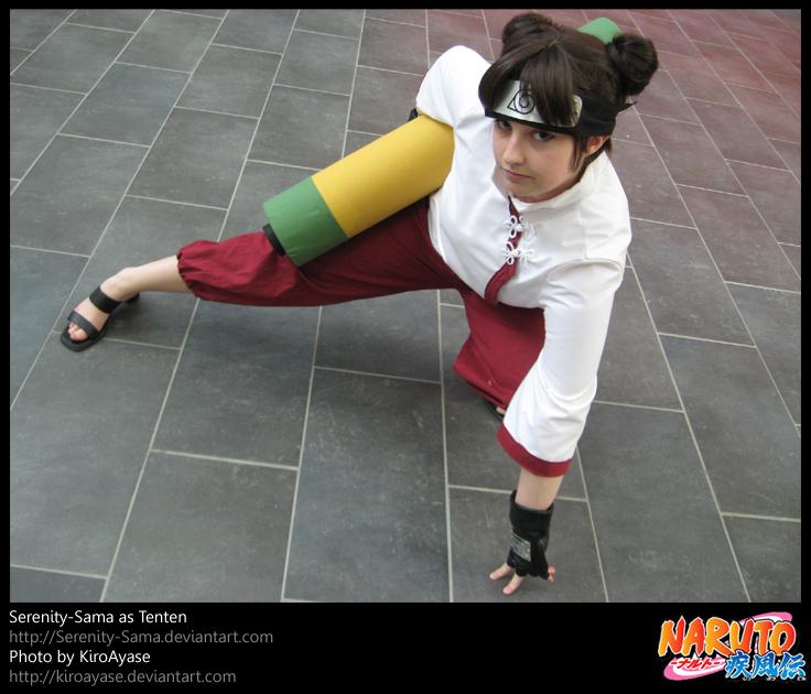 صور شخصيات حقيقيّة لأنمي ناروتو شيبودن-Naruto Shippuden Cosplay Shippuden_Tenten_Cos